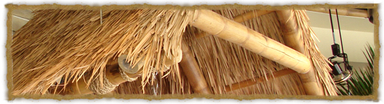 Interior Thatch & Bamboo<