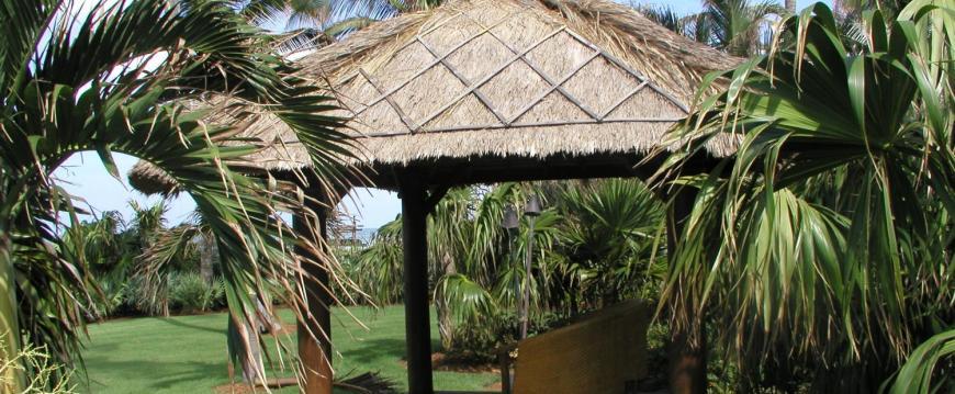 Bali Thatch Gazebo