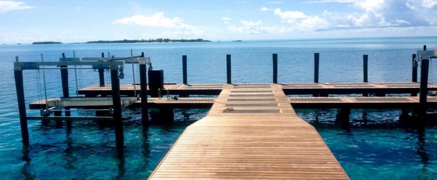 Ipe Decking Dock Walkway