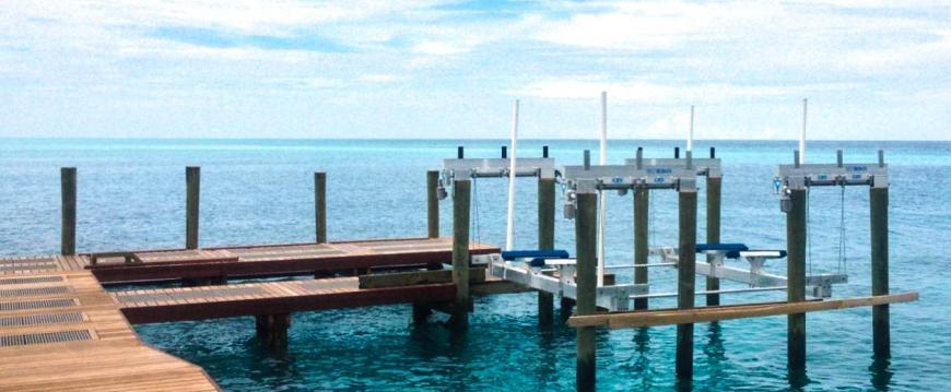 Ipe Decking Boat Dock