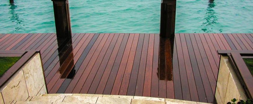 Ipe Decking Dock