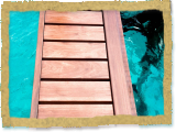 Ipe Decking Dock Closeup