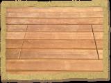 Opening hidden fasteners in deck