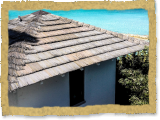 Lookout Tower - Custom Color Synthetic Thatch - Private Island, Bahamas