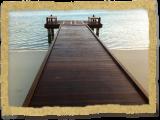 Ipe decking for dock