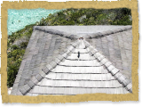 Thatched House - Custom Color Synthetic Thatch - Private Island, Bahamas