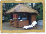 Royal Pacific resort re thatching in Orlando