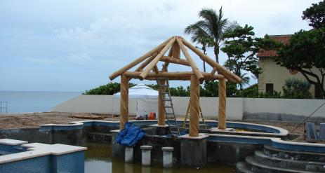 Tiki Pool Bar Stage 11