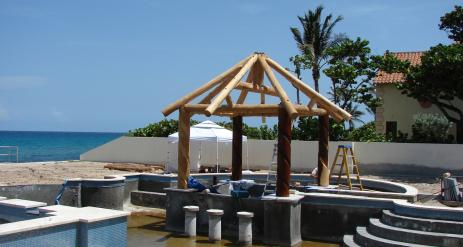 Tiki Pool Bar Stage 13