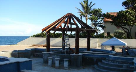 Tiki Pool Bar Stage 16