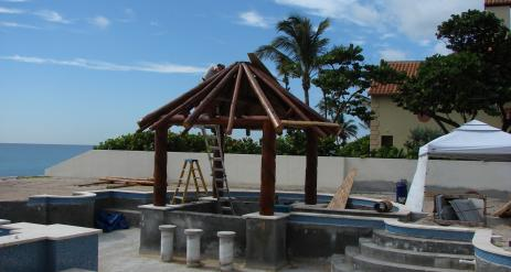 Tiki Pool Bar Stage 17