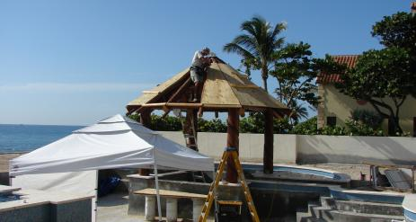 Tiki Pool Bar Stage 19