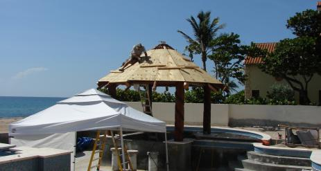 Tiki Pool Bar Stage 20