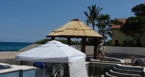 Tiki Pool Bar Stage 22