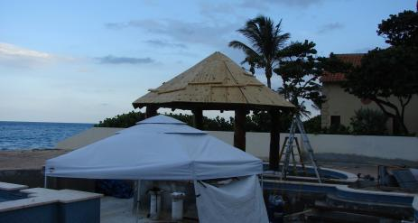 Tiki Pool Bar Stage 23