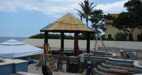 Tiki Pool Bar Stage 24