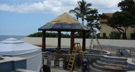 Tiki Pool Bar Stage 25