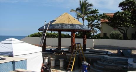 Tiki Pool Bar Stage 26