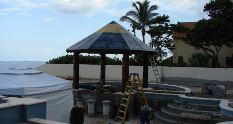 Tiki Pool Bar Stage 28