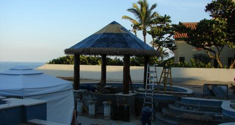 Tiki Pool Bar Stage 29