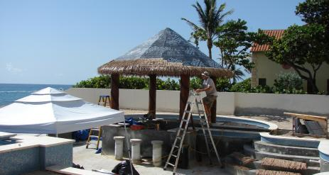 Tiki Pool Bar Stage 30