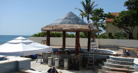 Tiki Pool Bar Stage 31