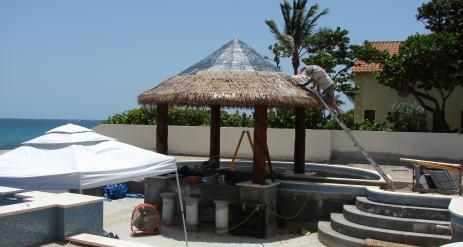 Tiki Pool Bar Stage 33