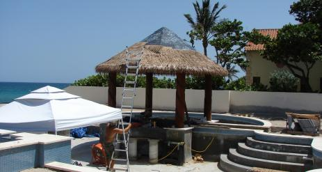 Tiki Pool Bar Stage 34