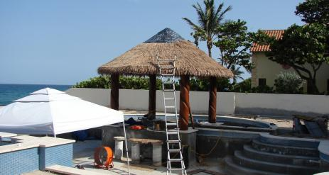 Tiki Pool Bar Stage 35