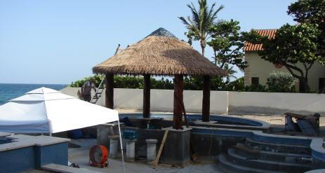 Tiki Pool Bar Stage 36
