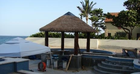 Tiki Pool Bar Stage 37