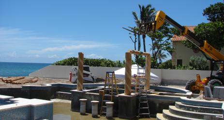 Tiki Pool Bar Stage 6