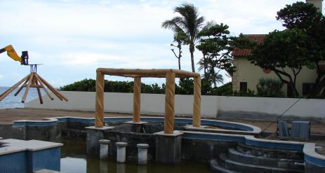 Tiki Pool Bar Stage 8