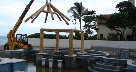 Tiki Pool Bar Stage 9