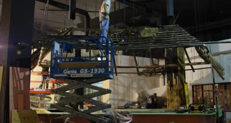 Restaurant Bar Installation Stage 64