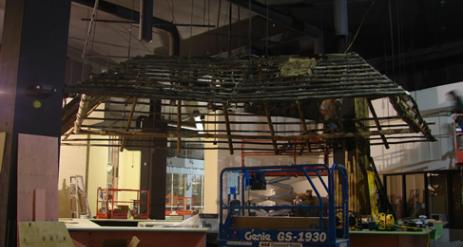 Restaurant Bar Installation Stage 83