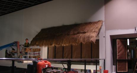 Thatch Lean To Stage 62