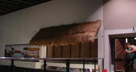 Thatch Lean To Stage 63