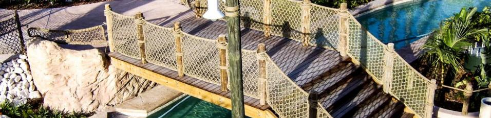 Cargo Netting Bridge Theme